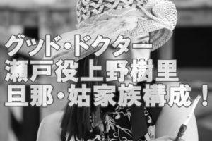 【人気女優】上野樹里さんの旦那はパワフル平野レミさんの息子!姉妹も凄すぎ!