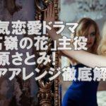 【人気女優】石原さとみの髪型が「高嶺の花」すぎると話題!歴代ドラマの髪型追跡!