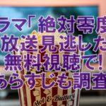 【歴代月9ドラマ】絶対零度再放送見逃した!今すぐ無料視聴方法とあらすじ紹介!