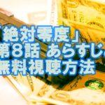 月9ドラマ「絶対零度」第8話見逃した!!あらすじと放映中に無料視聴する方法