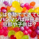 【人気女優】あのアンパンマンの声は戸田恵子!旦那や子供はいるの?