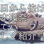 【人気女優】超かわいい橋本環奈はハーフ!? 目の色や身長、体重など紹介!