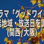 新ドラマ「グッドワイフ」放送地域・放送時間は?(関西・大阪編)