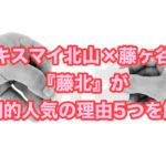キスマイ北山×藤ヶ谷『藤北』が圧倒的人気の理由5つを解説