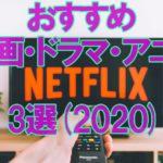 【Netflix】おすすめの映画・ドラマ・アニメ3選【2020】