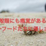 甲殻類にも痛覚がある?「シーフードたちに優しさを」